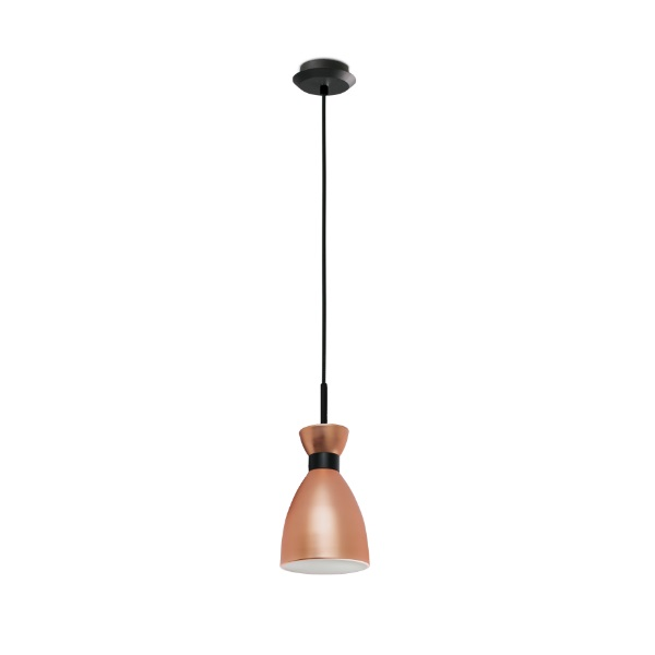 Retro Pendant Lamp Copper 1xE14 20W