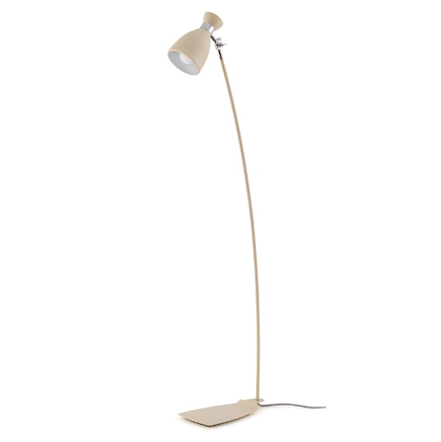 Retro lámpara of Floor Lamp beige e14 40w