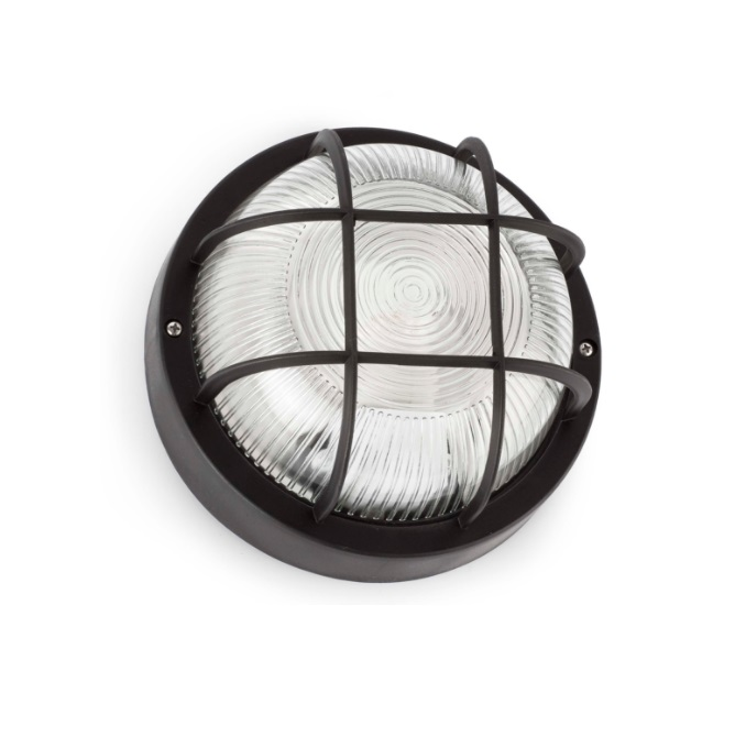 Rondo Wall Lamp Outdoor Black 1L 60w