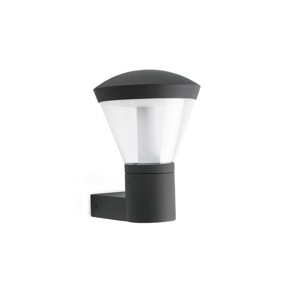 Shelby Wandleuchte Grau Dunkel LED 10W 3000K