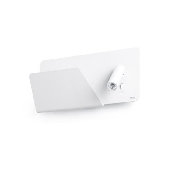 Suau Aplique izquierda USB LED 3W Blanco