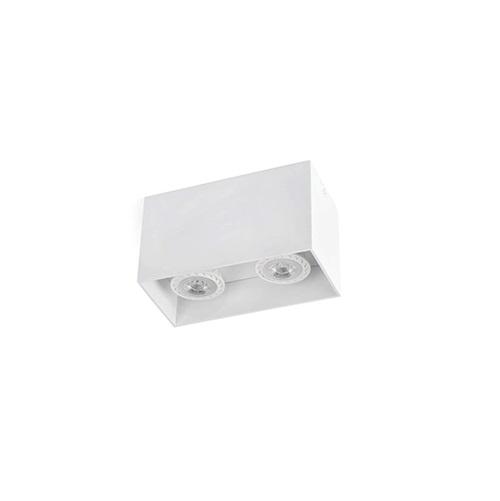 Tecto deckeleuchte weiß 2 x GU10 50W