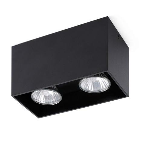 Tecto ceiling lamp Black 2 x GU10 50W