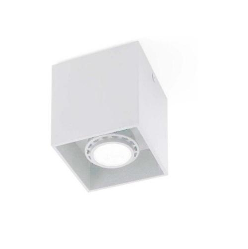 Tecto deckeleuchte weiß 1 x AR111 100W