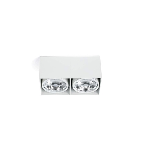 Tecto deckeleuchte weiß 2 x AR111 100W