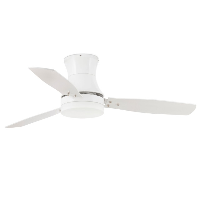 Tonsay Fan with light 3 blades ø132cm 2xE27 white