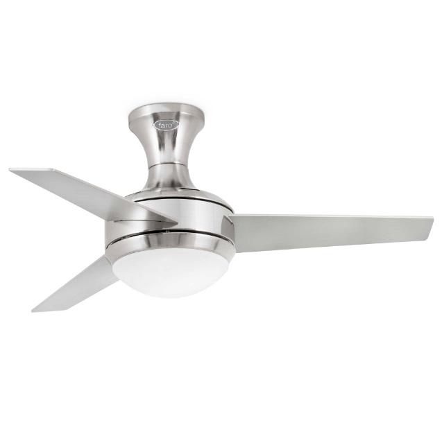 Mini Ufo Fan ø100cm 3 blades 2xE27 níquel Matt