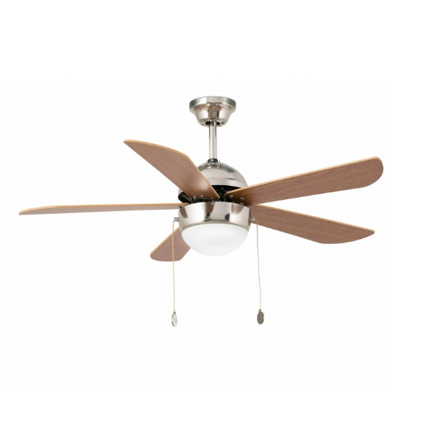 Veneto Fan ø106cm níquel Matt 5 blades 1xE27 40w