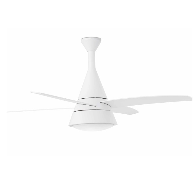 Wind Ventilador 132cm 3 Palas 2xE27 20w Blanco