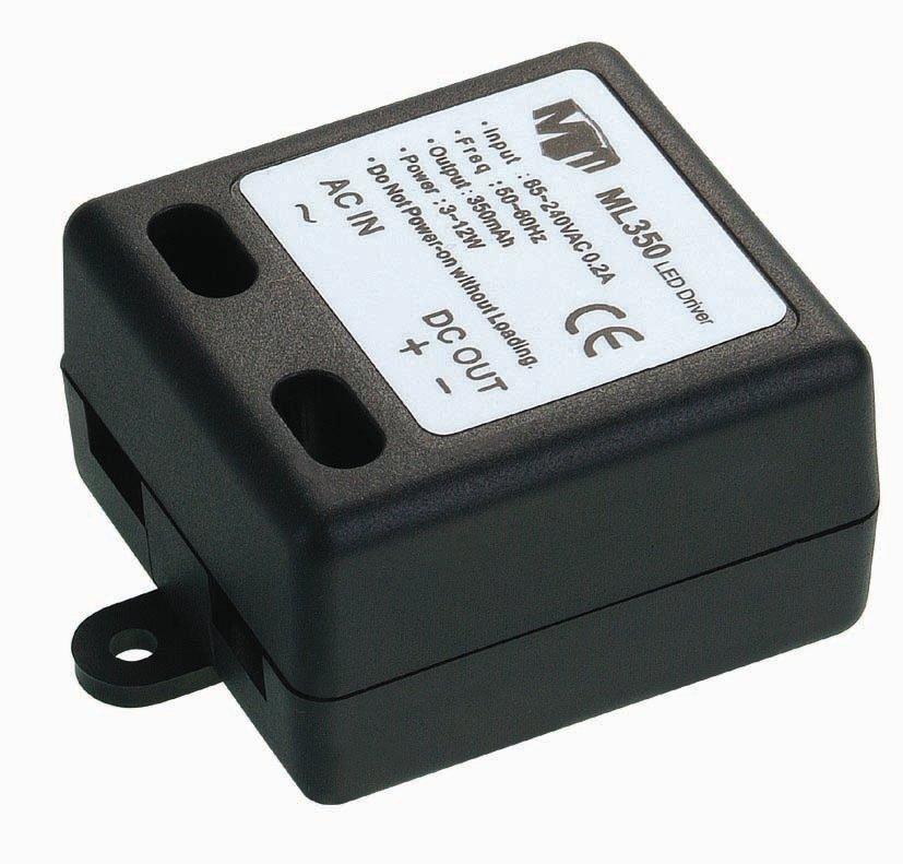 Accessoire Driver 12w max Transformador 120V/230V a 12V