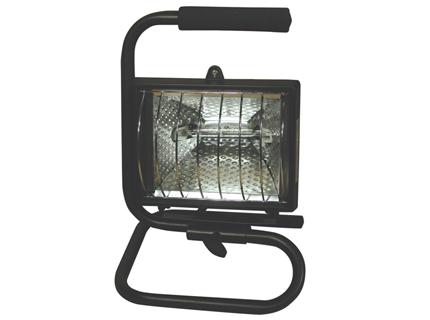 Zeles projector of Mano Outdoor Black 1L 500w