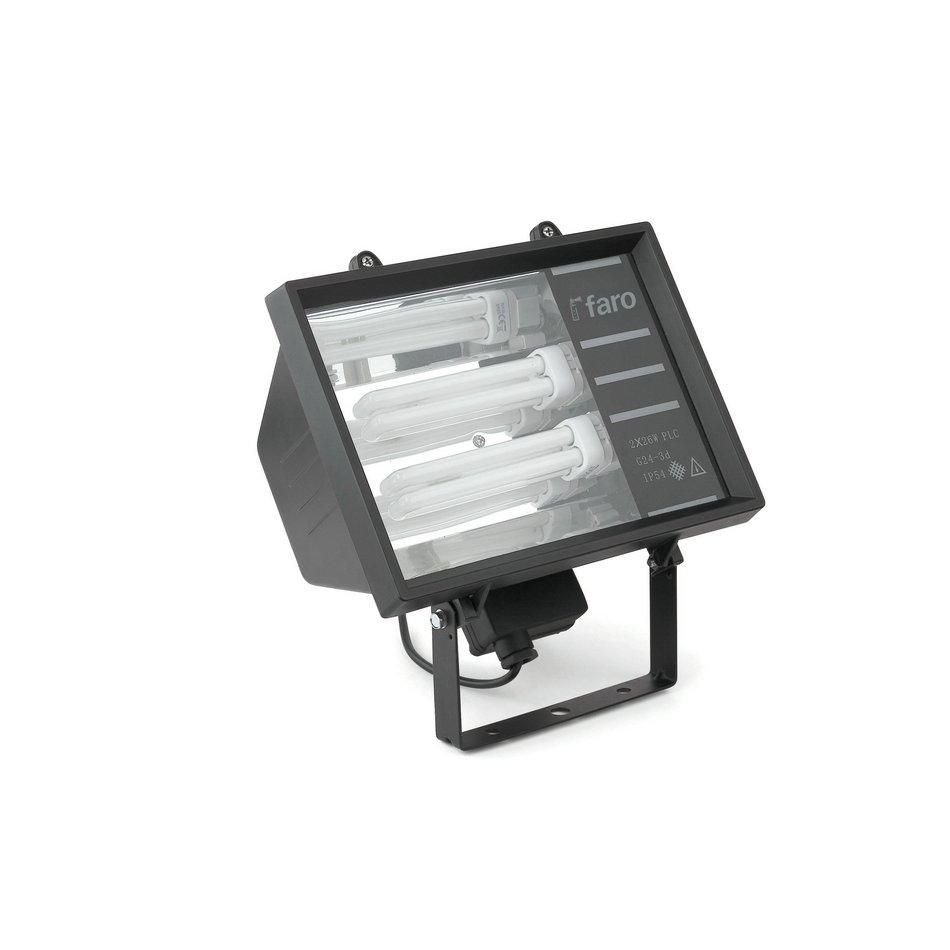 Olmo proyector Exterior negro 2L 26w