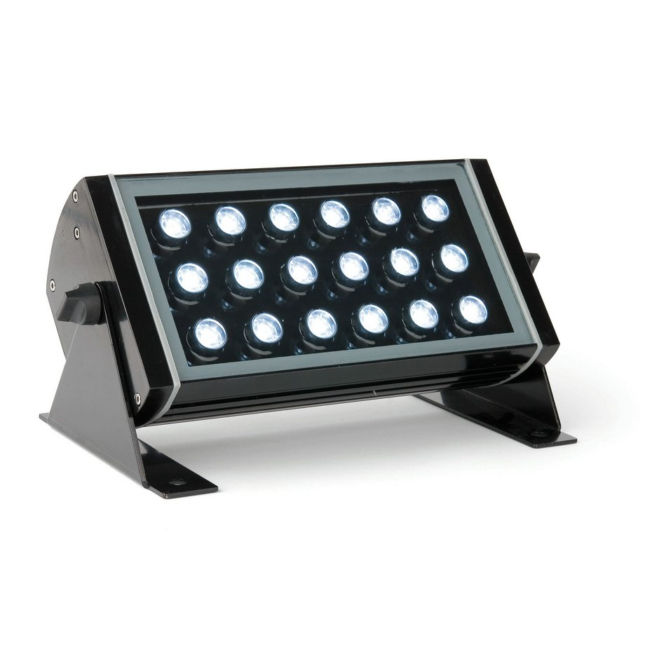 Vector proyector Exterior negro LED 1w
