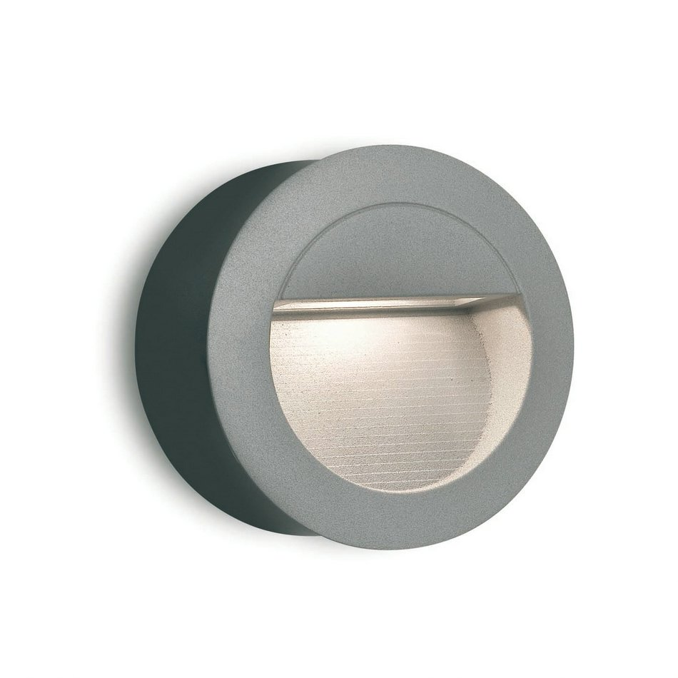 Racing Wall Lamp Outdoor Grey LED 1,4w