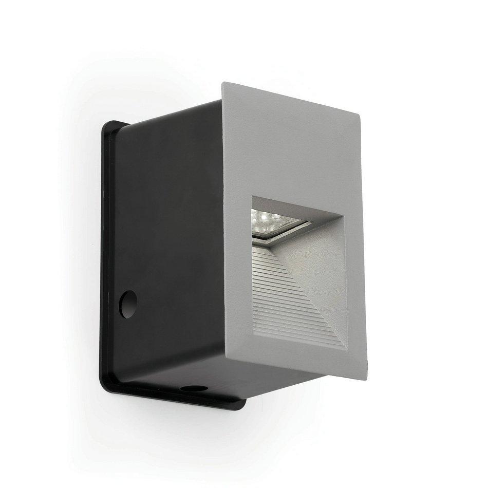 Leva Recessed Grey LED 1,5w