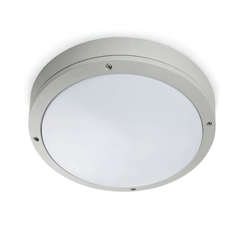 Yen ceiling lamp Outdoor Grey 1L 60w