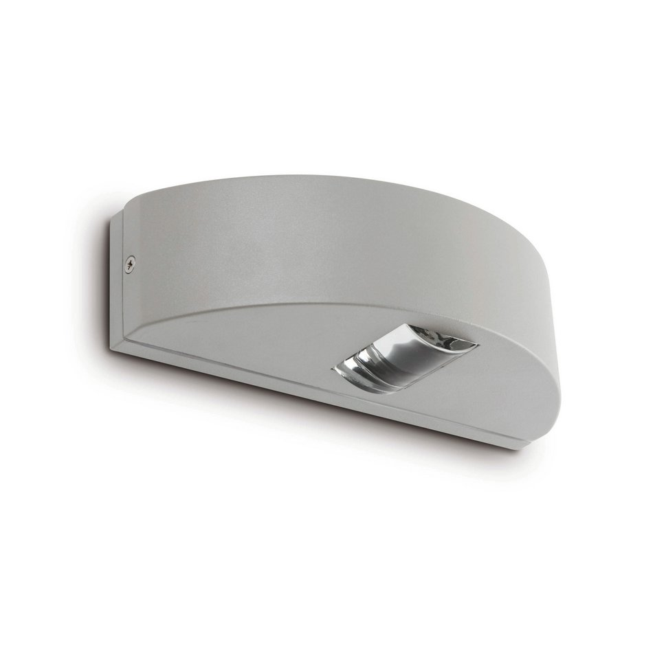 Máxima Aplique Exterior gris 1L 40w