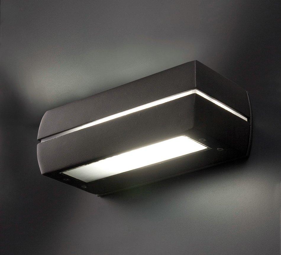Dragma Wall Lamp Grey Dark 1L 18w