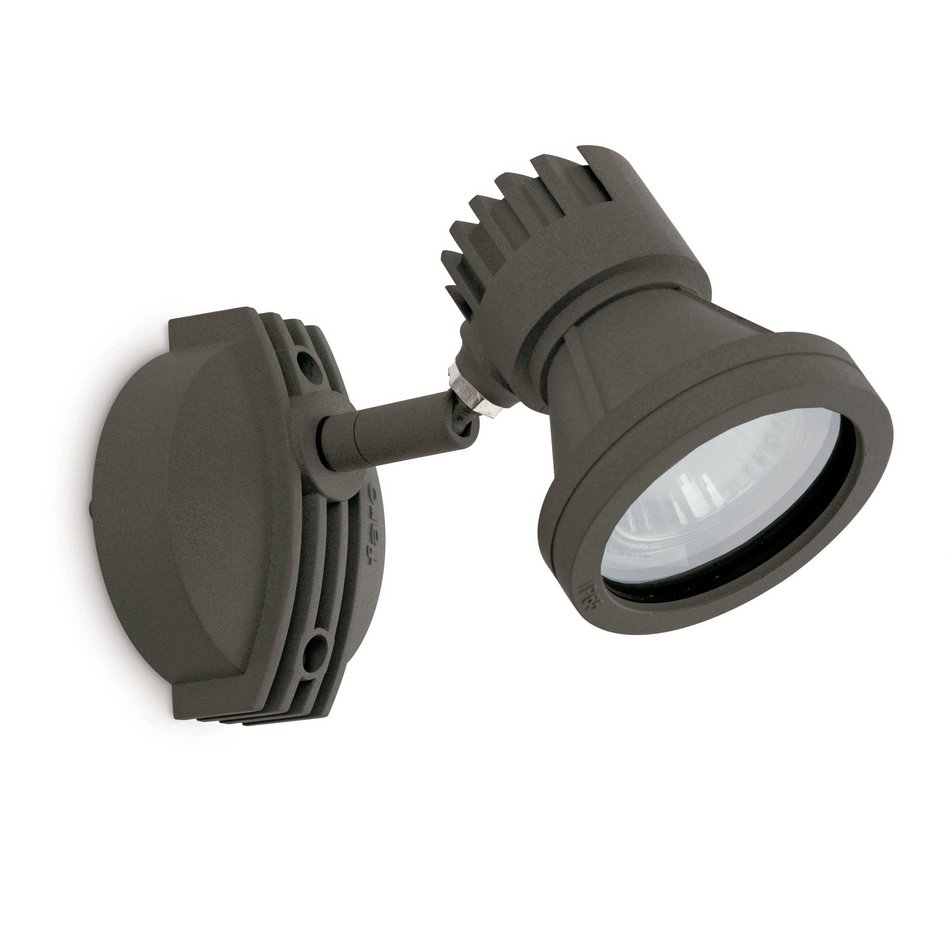 Project Mini Wall Lamp Outdoor GU10 50w Grey Dark