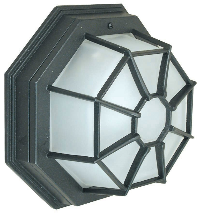 Seto P ceiling lamp Outdoor Black 1L 60w