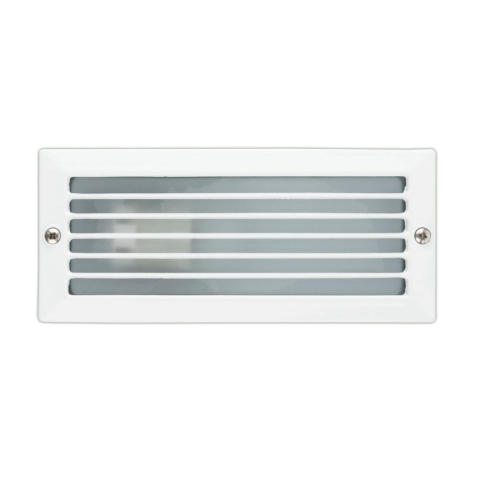 Esca Recessed Outdoor wall white 1L 40w