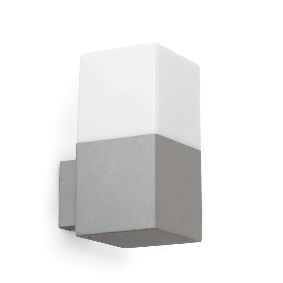 Tarraco Wall Lamp Outdoor Grey Claro 1L E27 13w