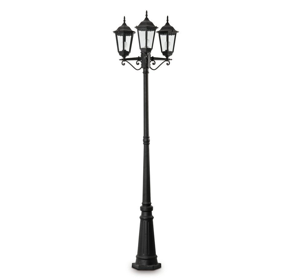 París Streetlight Outdoor Black 3L 20w
