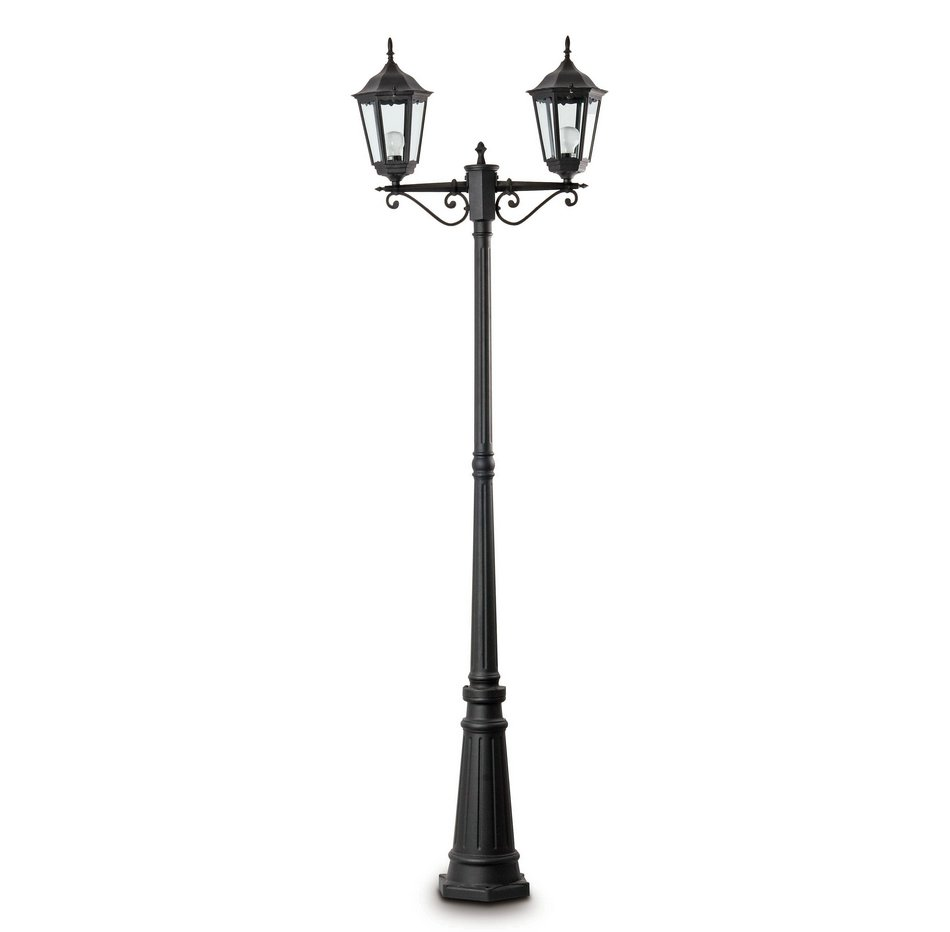 París Streetlight Outdoor Black 2L 20w