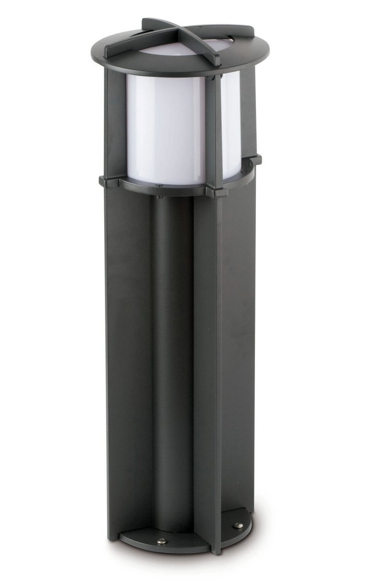 Cross 1 Beacon Outdoor 1L 60cm Grey Dark E27 60w