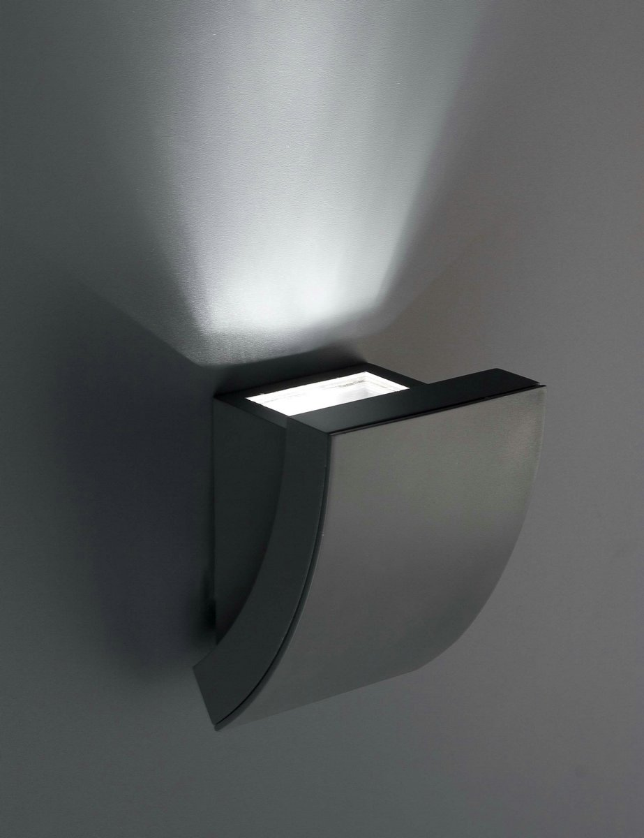 Proa Aplique Exterior 1xGU10 35w gris Oscuro