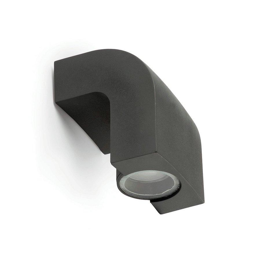KAplique Exterior 1L gris Oscuro GU10 11w