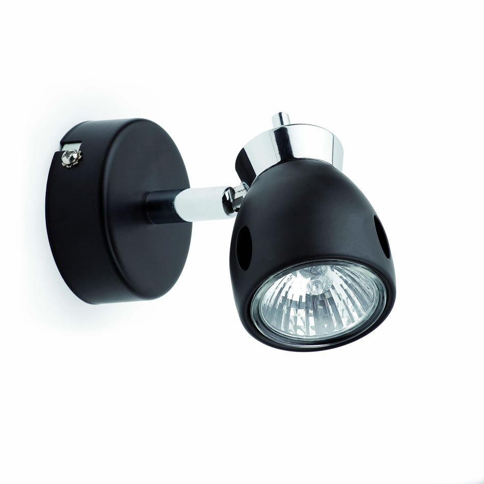 Mika Wall Lamp Black