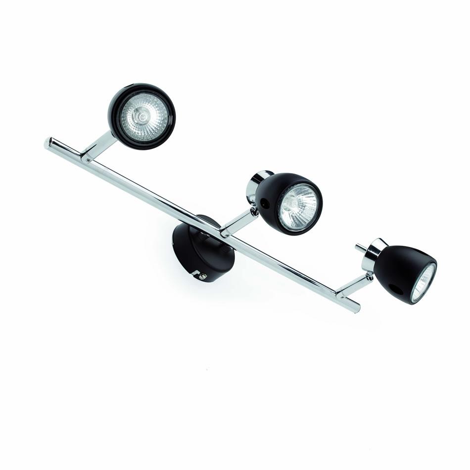 Mika Wall Lamp Black 3L