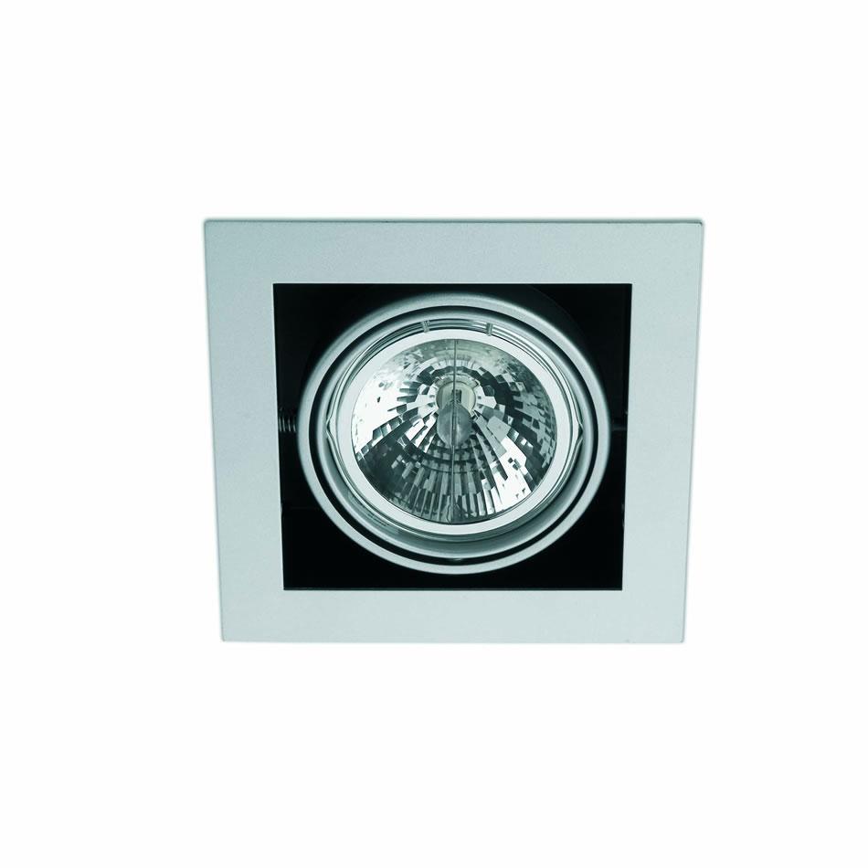 Helio 1 Lamp Recessed Grey 1L