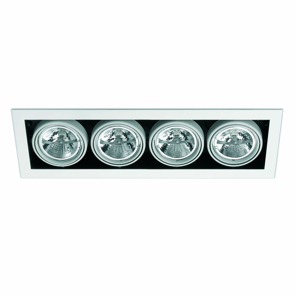 Helio 4 Lamp Recessed white 4L