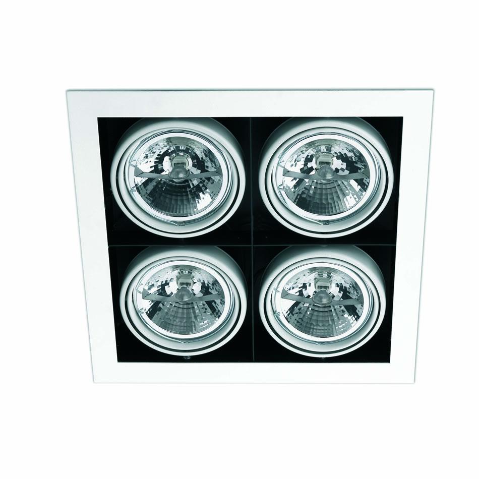 Helio 5 Lamp Recessed white 4L