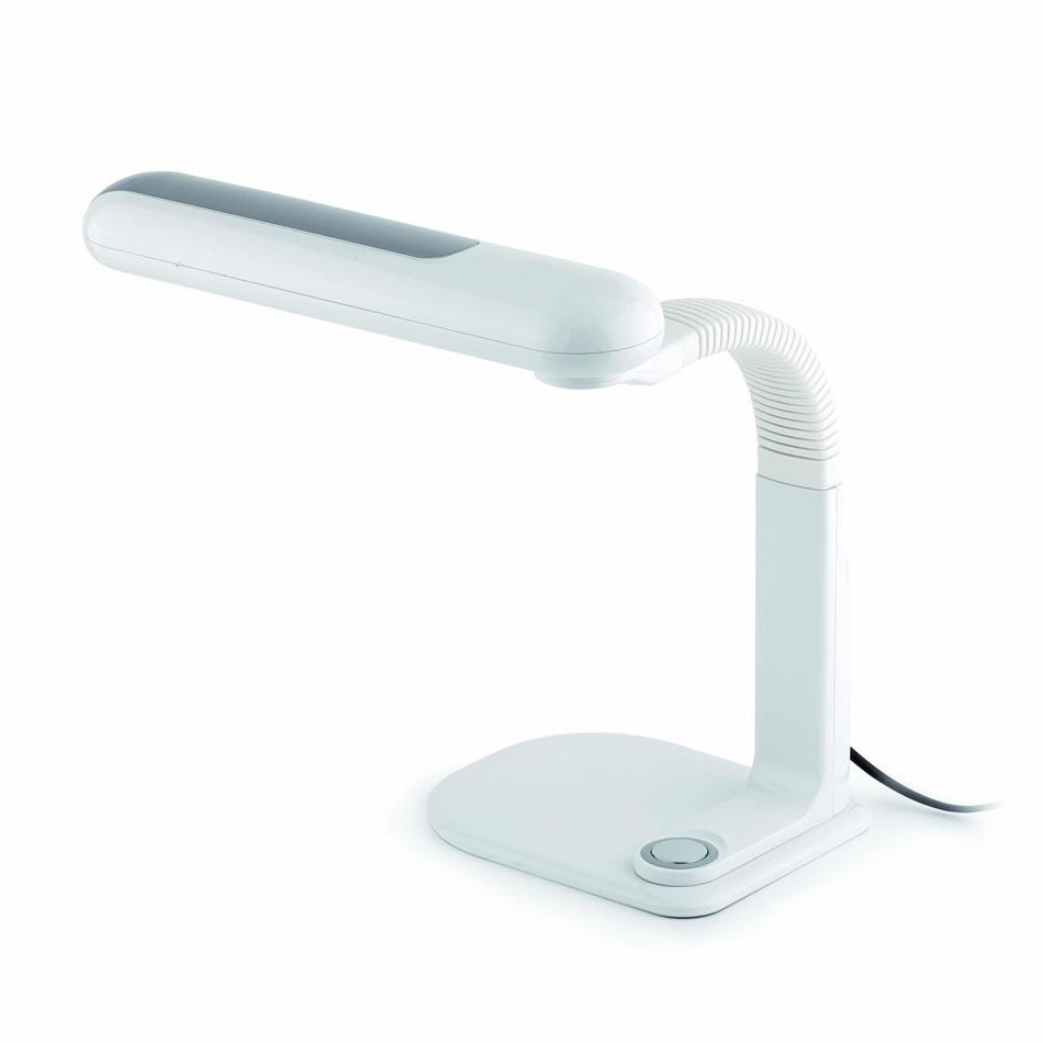 Darwin Lamp Balanced-arm lamp white/Grey Táctil