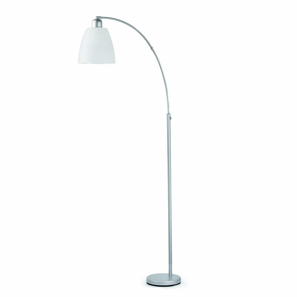 Yumi lámpara de Pie gris