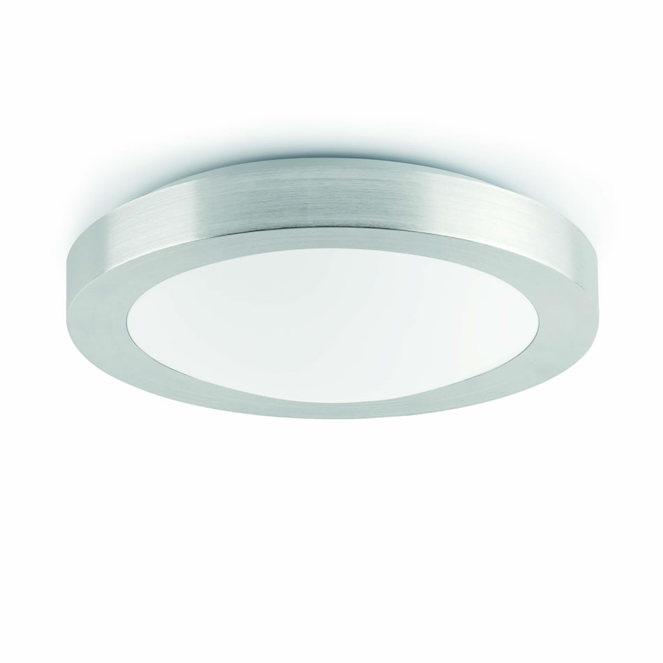 Logos 1 ceiling lamp Baño IP44 1xE27 20w Grey