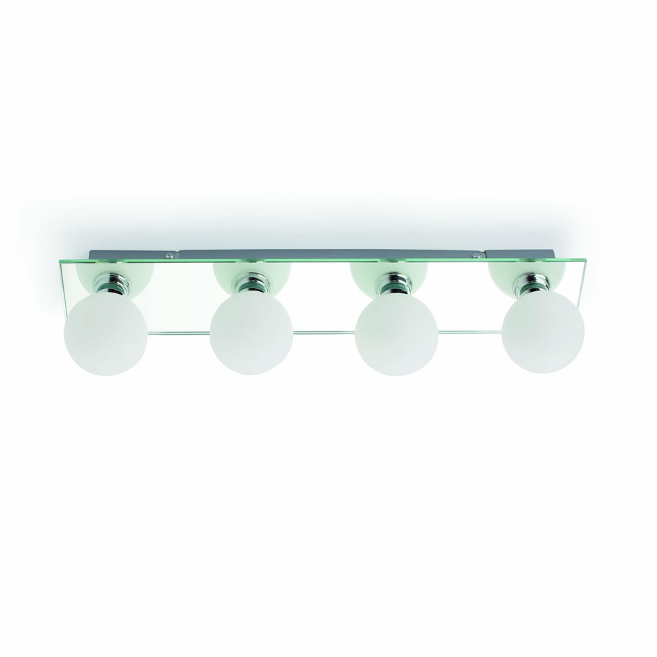Lass Wall Lamp Baño Chrome 4L
