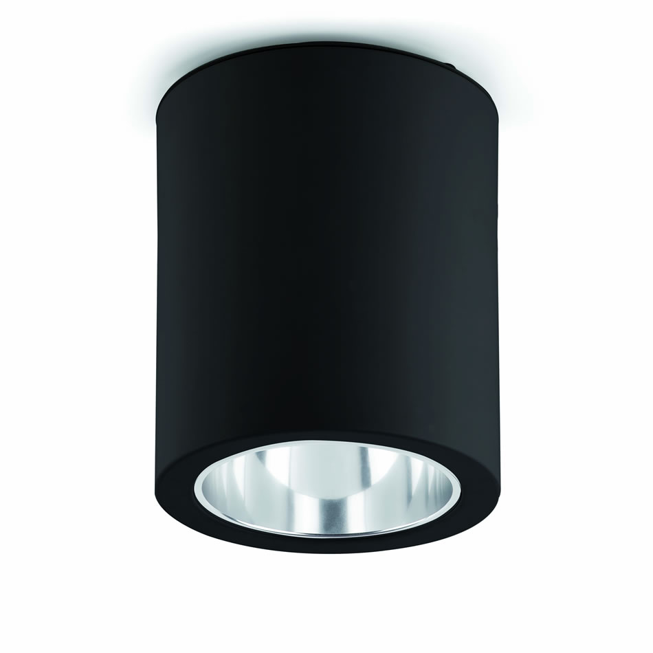 Pote 1 ceiling lamp Black 1xE27 max 60W no incl.