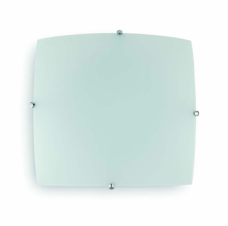 Liria 2G ceiling lamp Níquel Matt 2xE27 max 60W no incl