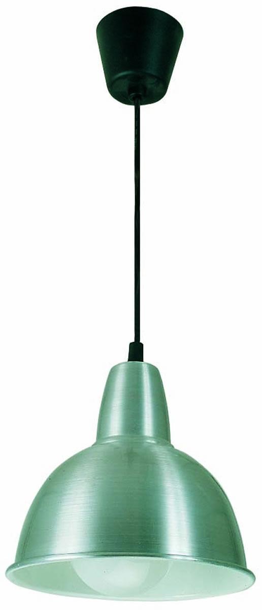 Aluminio 2 Lámpara Colgante Aluminio 1xE27 max 75W no incl