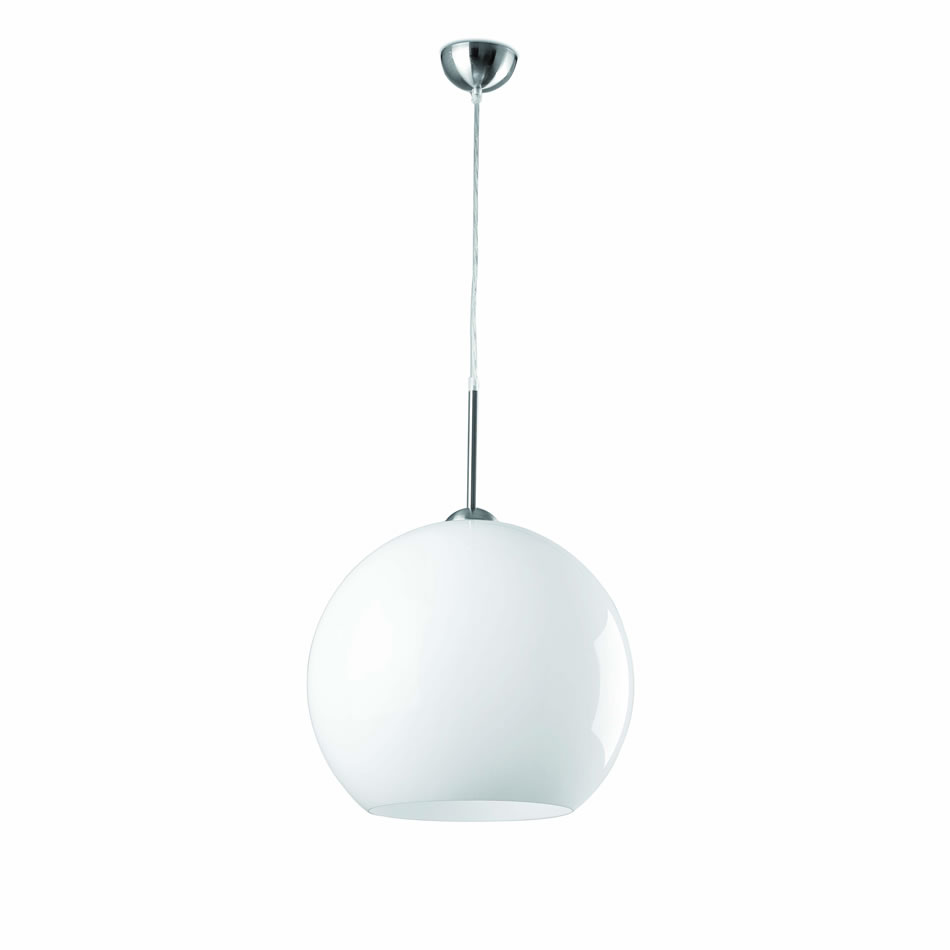 Mali Pendant Lamp Small white 1xE27 max 60W no incl