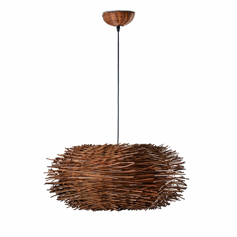 Nido Pendant Lamp 1xE27 max 60W Brown