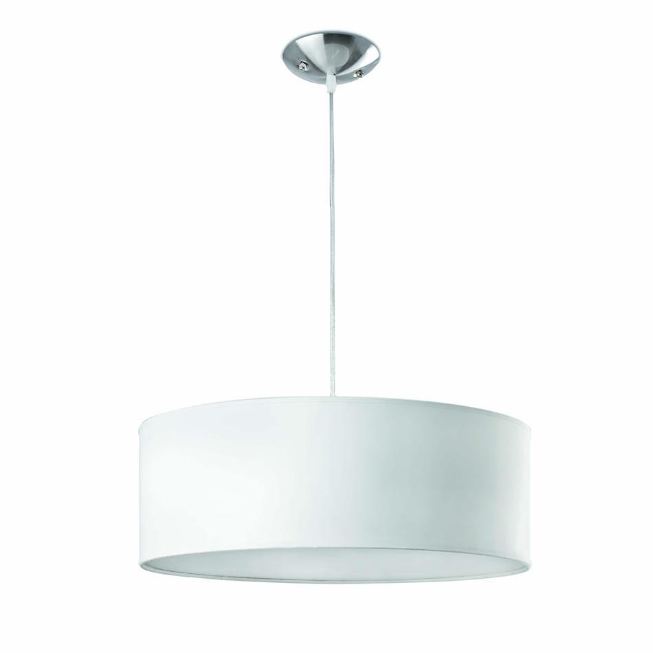 Seven Lámpara Colgante blanco 3xE27 max 60W no incl