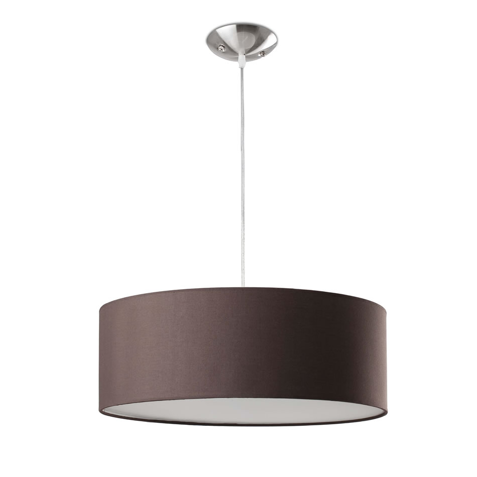 Seven Pendant Lamp chocolate 3xE27 max 60W no incl