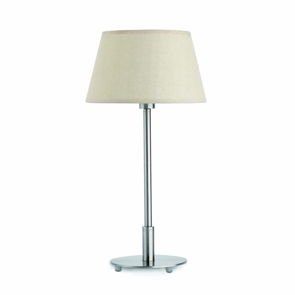 Mitic Table Lamp 1xE14 max 60W Ní­quel Mat