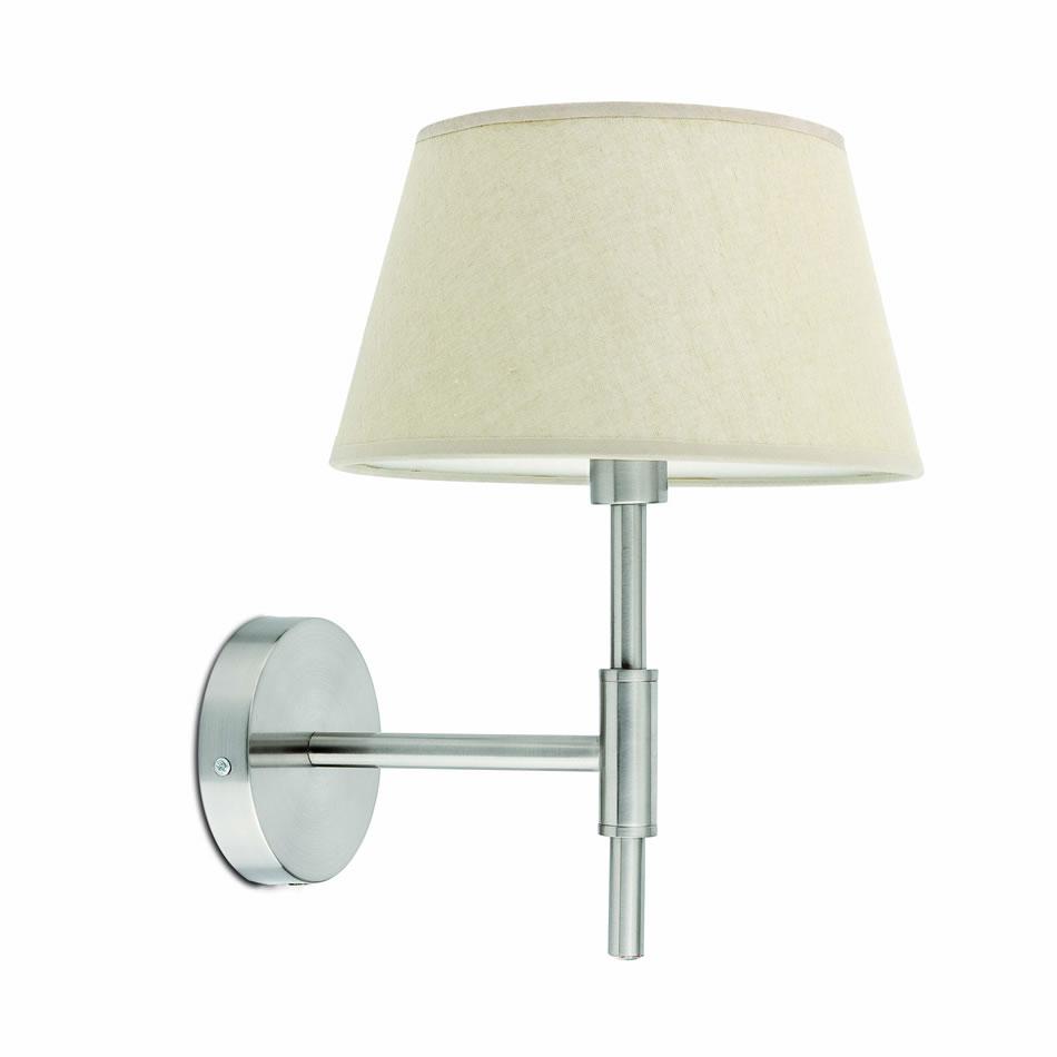 Mitic Wall Lamp 1xE14 max 60W Níquel Mat
