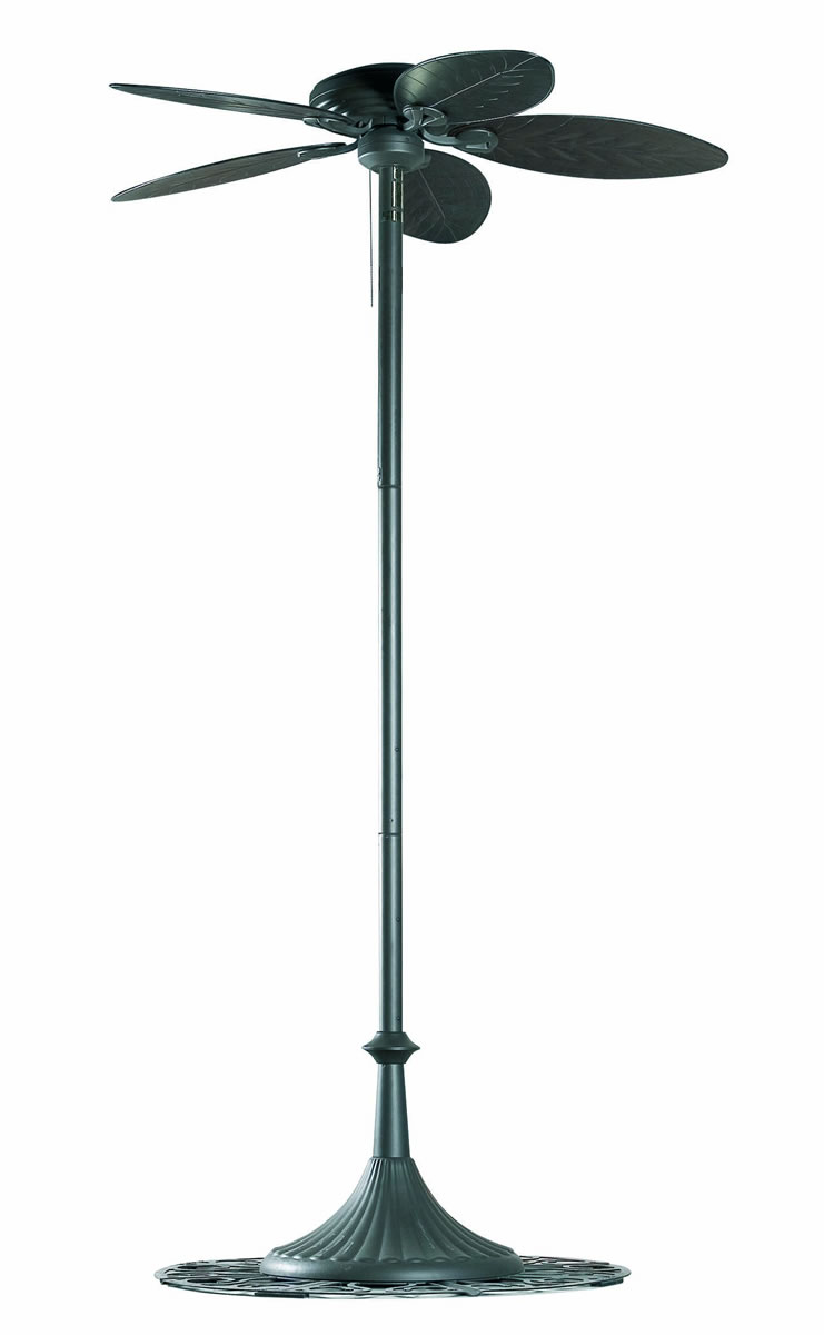 Oasis Hunter Fan of Floor Lamp Outdoor Brown ø137cm